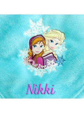 Плюшевый плед Анна и Эльза Холодное сердце Дисней Disney