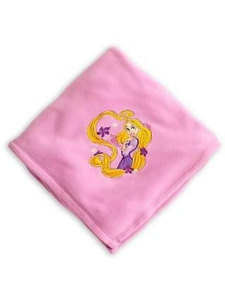 Плюшевый плед Дисней Рапунцель Rapunzel Disney