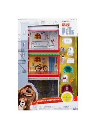 Тайная жизнь домашних животных игровой набор Мини квартиры домики