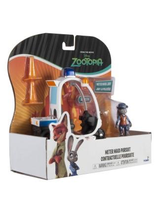 Игровой набор Зверополис Джуди Хоппс с мотороллером