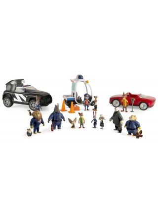 Игровой набор Зверополис Лис Ник Уайлд с автомобилем