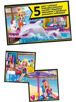 Конструктор Мега Блокс Барби пляж Mega Bloks Barbie