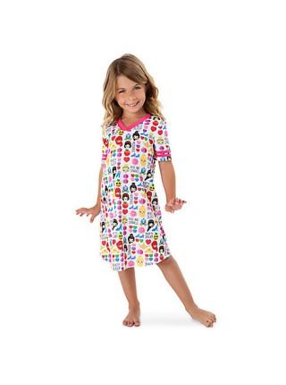 Ночная рубашка для девочки 5/6 лет с принцессами Дисней / Nightshirt Princess Disney