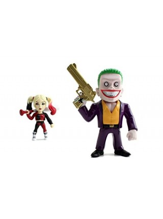 Набор фигурок Джокер и Харли Квин Отряд самоубийц JADA