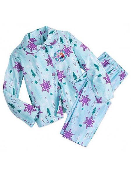 Фланелевая пижама Холодное сердце для девочки 7/8 лет Frozen Disney