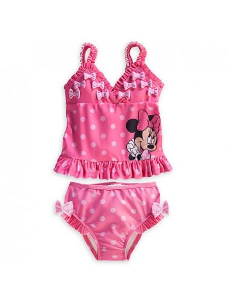 Купальник раздельный для девочки 6-9 мес Минни Дисней / Minnie Mouse Swimsuit Disney