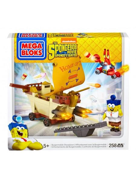 Спанч Боб Мега Блокс Бургермобиль конструктор Mega Bloks SpongeBob