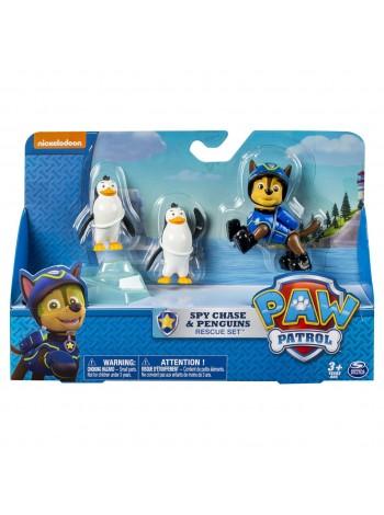 Игровой набор Щенячий патруль Чейз и пингвины
