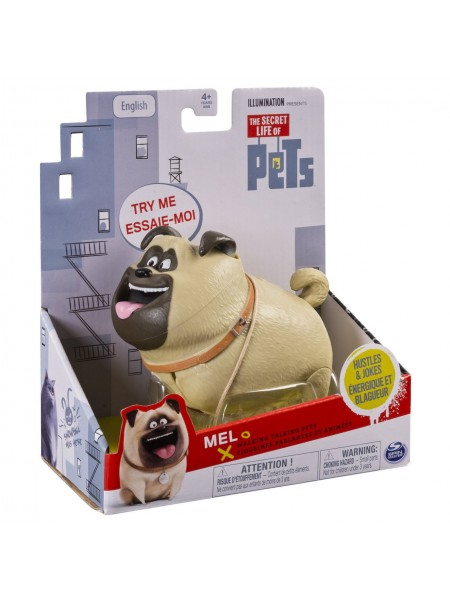Интерактивная игрушка мопс Тайная жизнь домашних животных