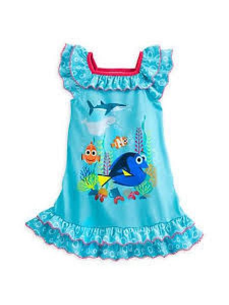 Ночная рубашка Дисней для девочек В поисках Дори Disney