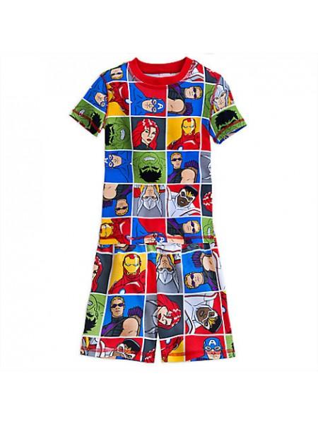 Пижама Мстители для мальчика 6 лет Disney