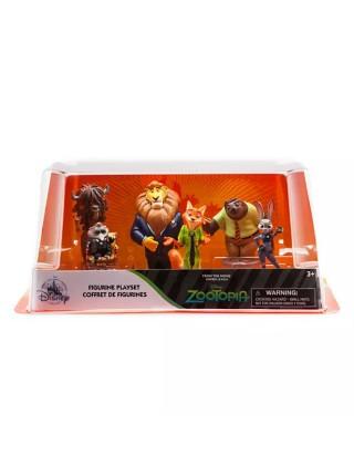 Набор фигурок Зверополис Дисней / Zootopia Play Set Disney