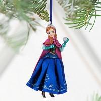 Елочная игрушка Дисней Анна Холодное сердце Disney Frozen