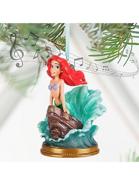 Елочная игрушка Дисней Ариель Русалочка поющая Disney