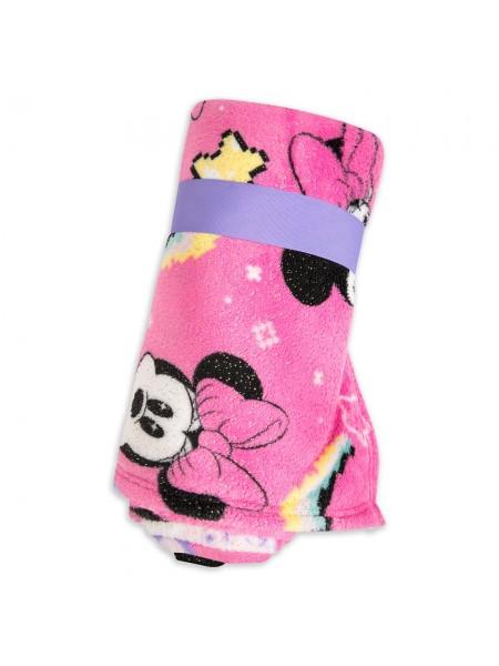 Плюшевый плед розовый Минни Маус Minnie Mouse Disney