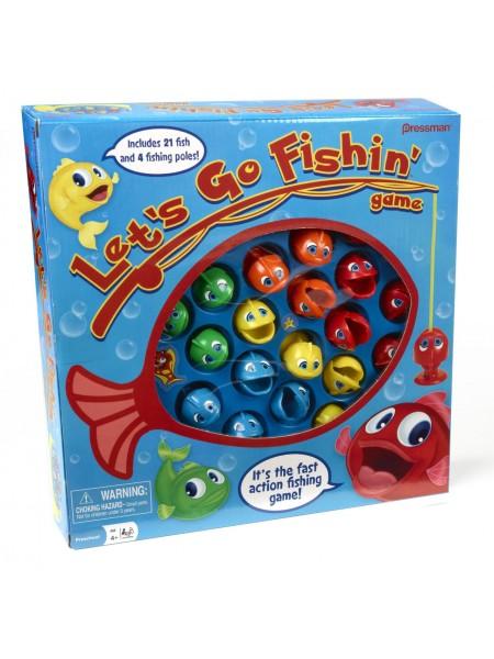 Интерактивная настольная игра рыбалка