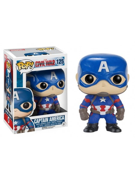 Funko POP Мстители Капитан Америка виниловая фигурка Marvel