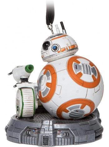 Елочная игрушка Дисней Звездные войны BB-8 и D-O
