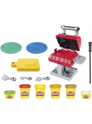 Набор пластилина Плей до Гриль Барбекю Play-Doh  Kitchen Creations