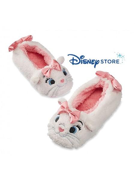 Мягкие тапочки кошечки Дисней для девочки на 7/8 лет / Marie Plush Aristocats Slippers Disney