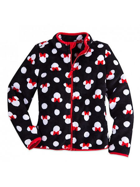Флисовая кофта для девочки 5/6 лет Минни Маус Дисней / Minnie Mouse  Fleece Jacket Disney