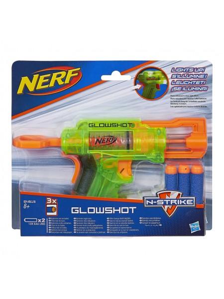 Бластер Нерф с патронами светящийся Nerf Hasbro
