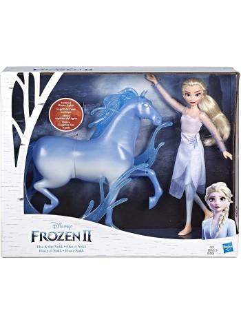 Кукла Эльза и конь Нокк Холодное сердце от Hasbro