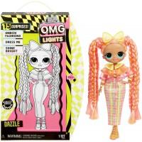 Лол L.O.L. Surprise! светящаяся кукла Дазл Lights Dazzle Fashion Doll + 15 сюрпризов