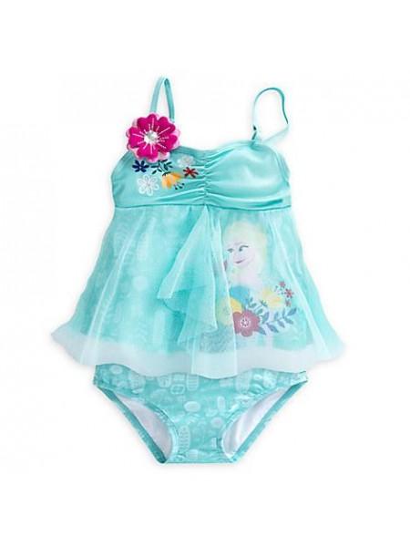 Купальник раздельный для девочки Холодное сердце 7/8 лет / Frozen Swimsuit Disney
