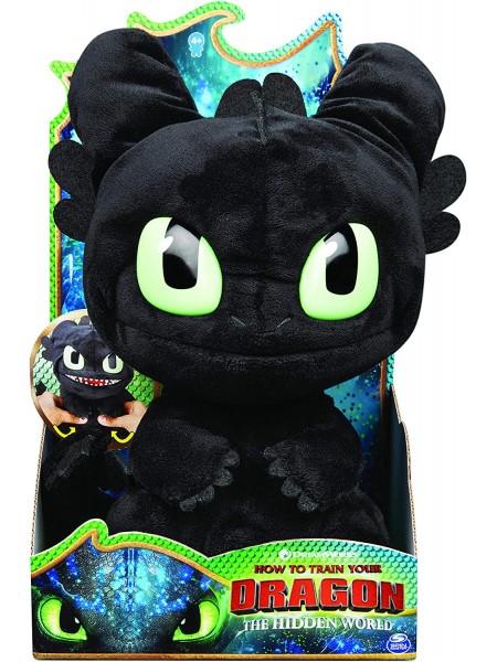 Дракон Беззубик мягкая игрушка со звуками Как приручить дракона