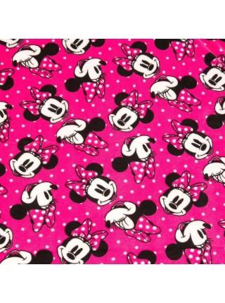 Плюшевый плед Дисней с Минни Маус Disney