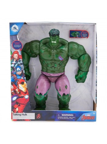 Халк Дисней интерактивный говорящий 35см / Hulk Disney