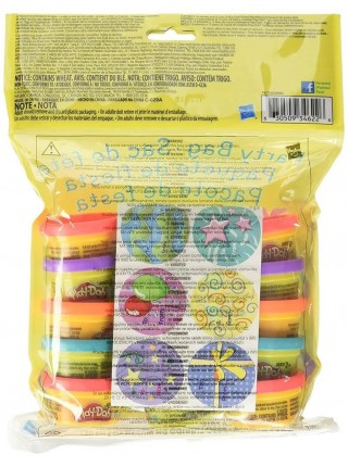 Набор пластилина 15 разноцветных мини баночек Play-Doh