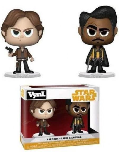 Набор фигурок Звездные войны Хан Соло и Лендо Калриссиан / Star Wars Funko POP
