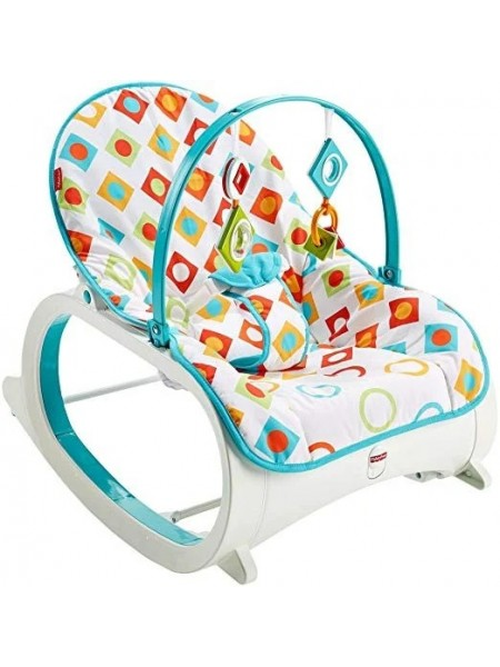 Fisher-Price кресло шезлонг массажное Infant-to-Toddler