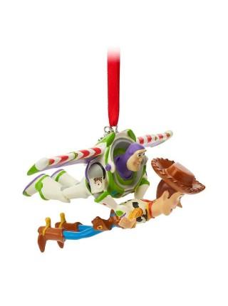 Елочная игрушка История игрушек Базз Лайтер и шериф Вуди