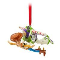 Елочная игрушка Дисней История игрушек Базз Лайтер и шериф Вуди