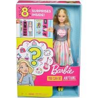 Барби профессия сюрприз набор кукла с аксессуарами Barbie